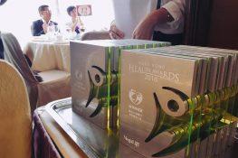 當日的獎項一一頒發予各個得獎者及得獎企業。